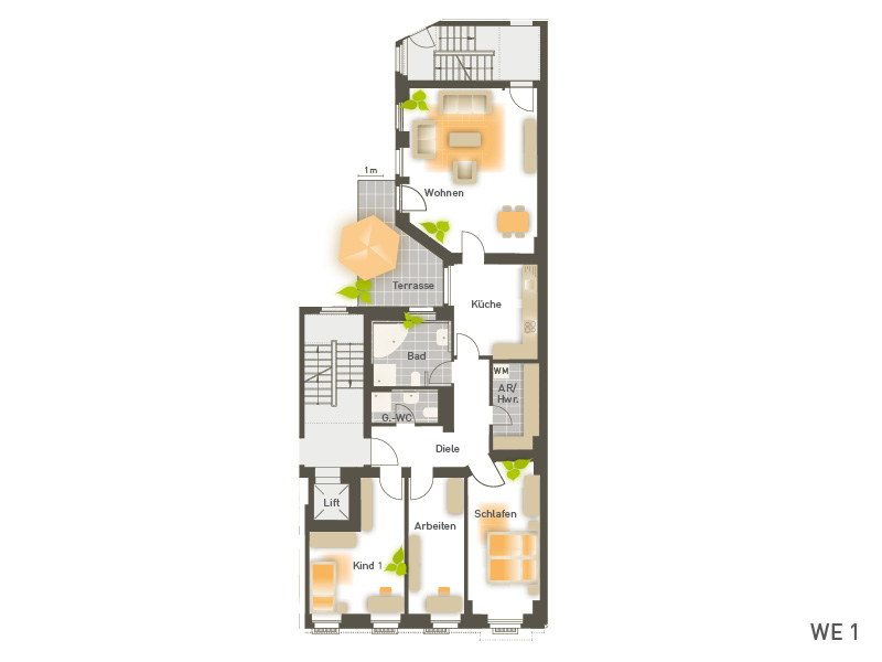 wohnungen metzer stra e 9 project immobilien berlin. Black Bedroom Furniture Sets. Home Design Ideas