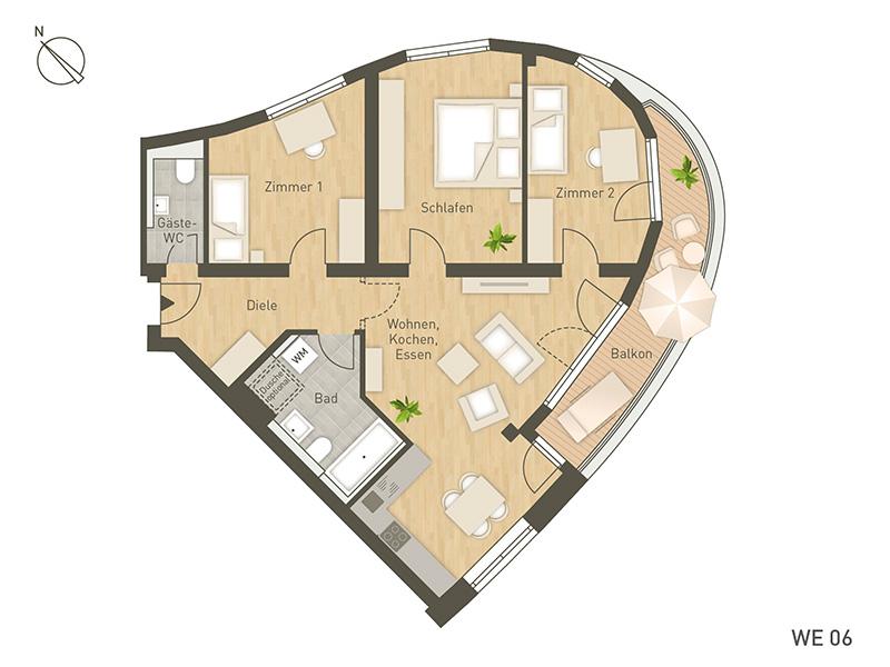 project immobilien berlin wohnungen. Black Bedroom Furniture Sets. Home Design Ideas
