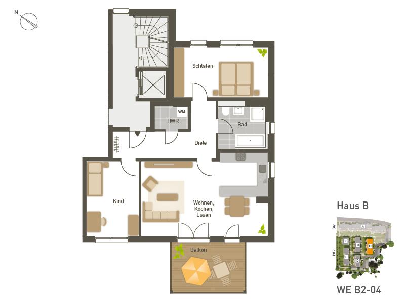 project immobilien n rnberg f rth wohnungen. Black Bedroom Furniture Sets. Home Design Ideas