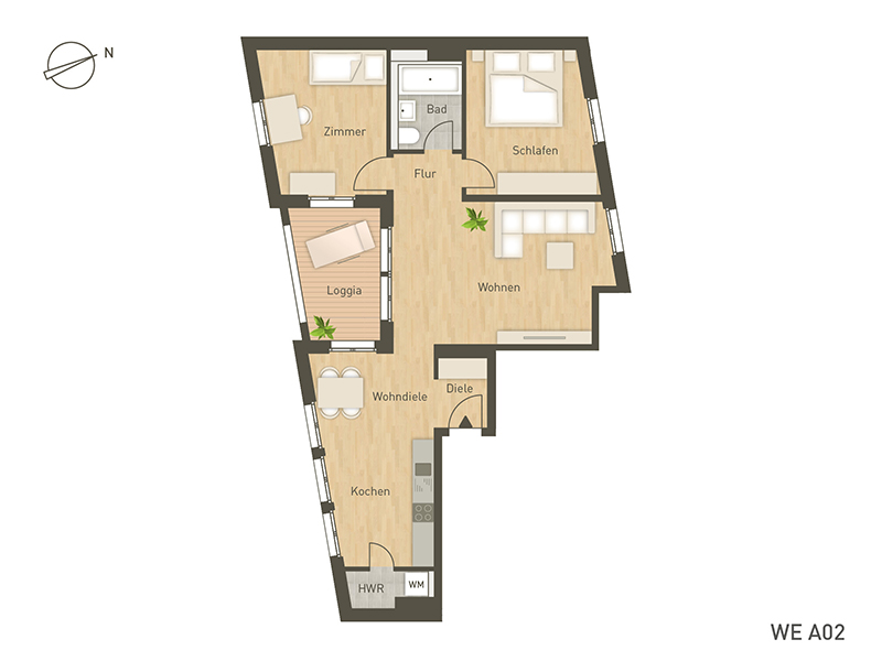 project immobilien frankfurt wiesbaden wohnungen. Black Bedroom Furniture Sets. Home Design Ideas
