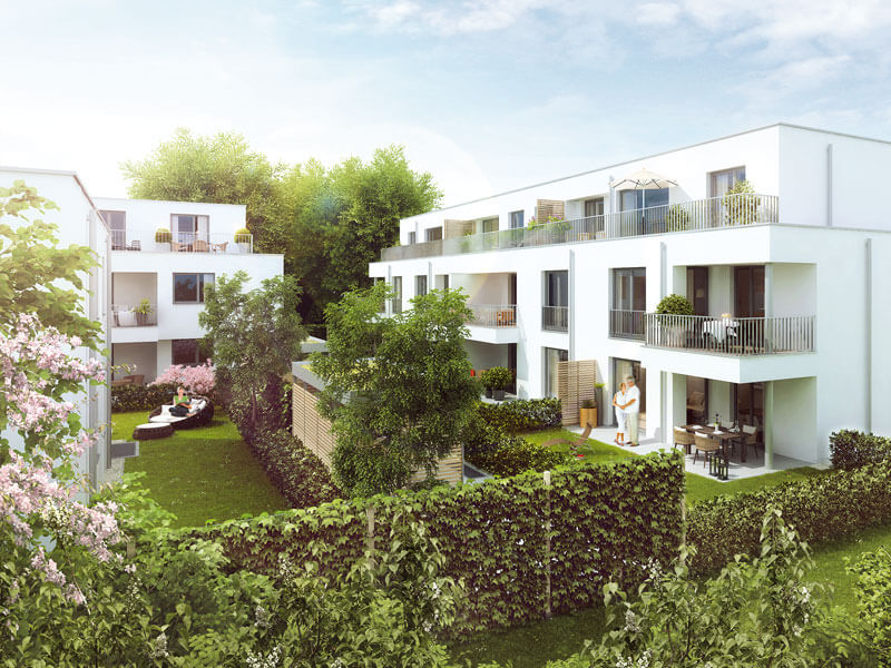 wohnen city west frankfurt