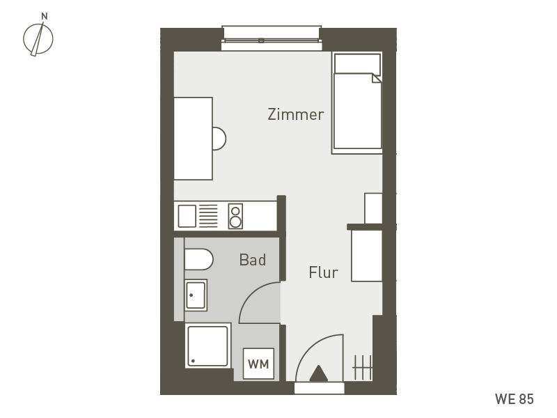 Studio Living Berlin B.1 | WE085 | 24 m²