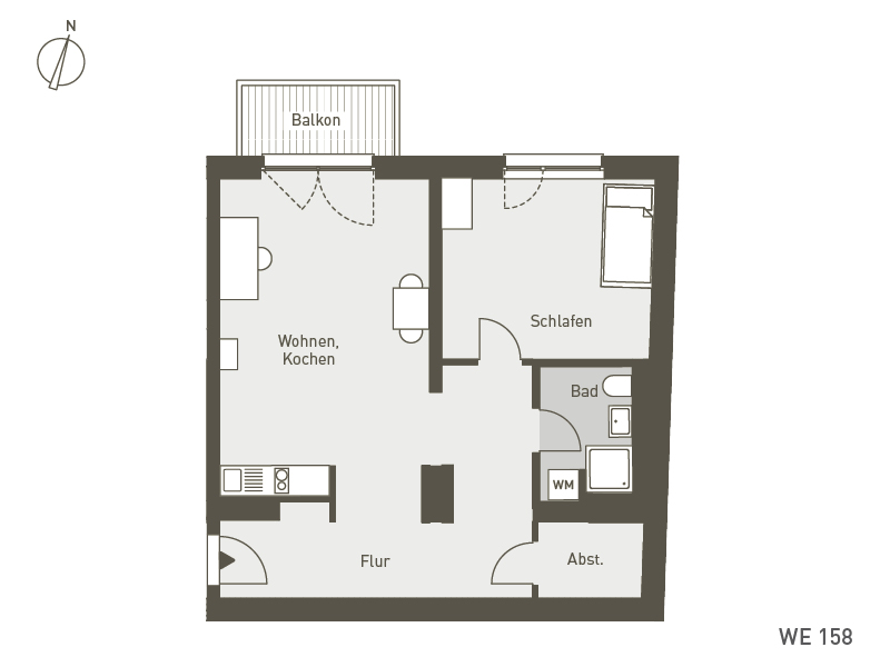 Studio Living Berlin B.1 | WE158 | 67 m²