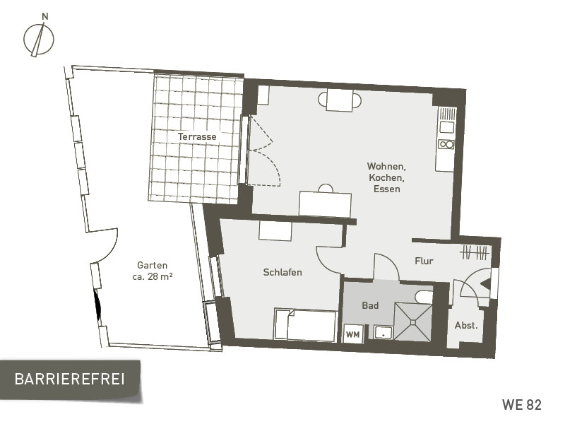 Studio Living Berlin B.1 | WE082 | 60 m²