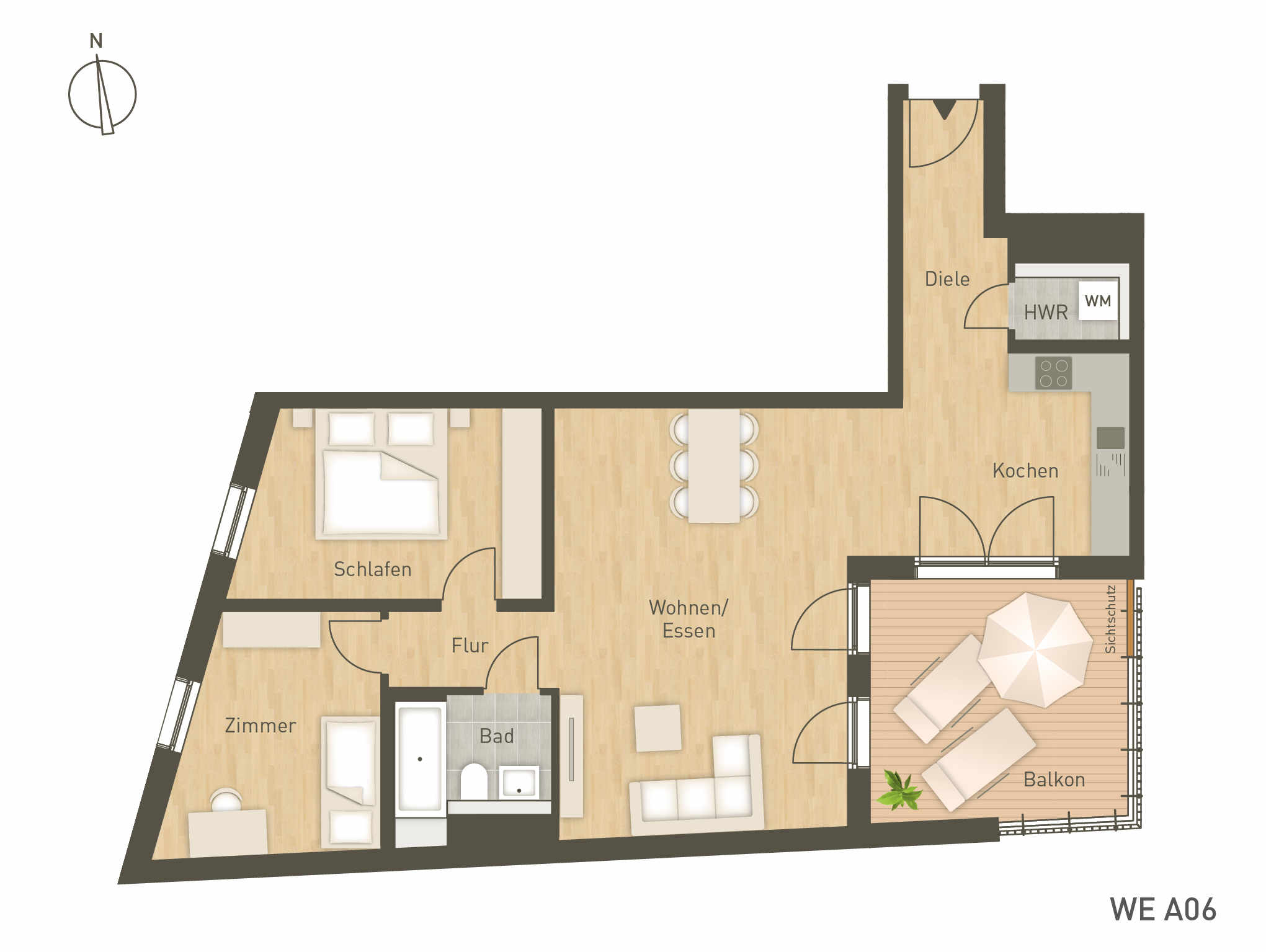Living 138 Project Immobilien Hamburg Grundrisse