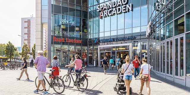 Shopping centre Spandau Arcaden