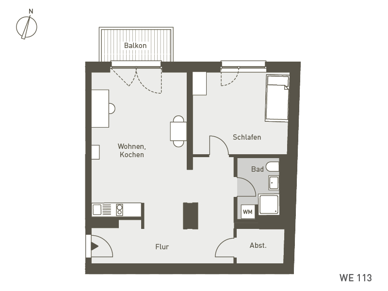 Studio Living Berlin B.1 | WE113 | 67 m²