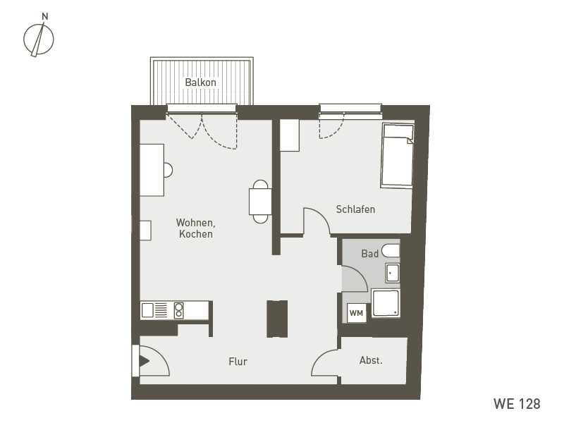 Studio Living Berlin B.1 | WE128 | 67 m²