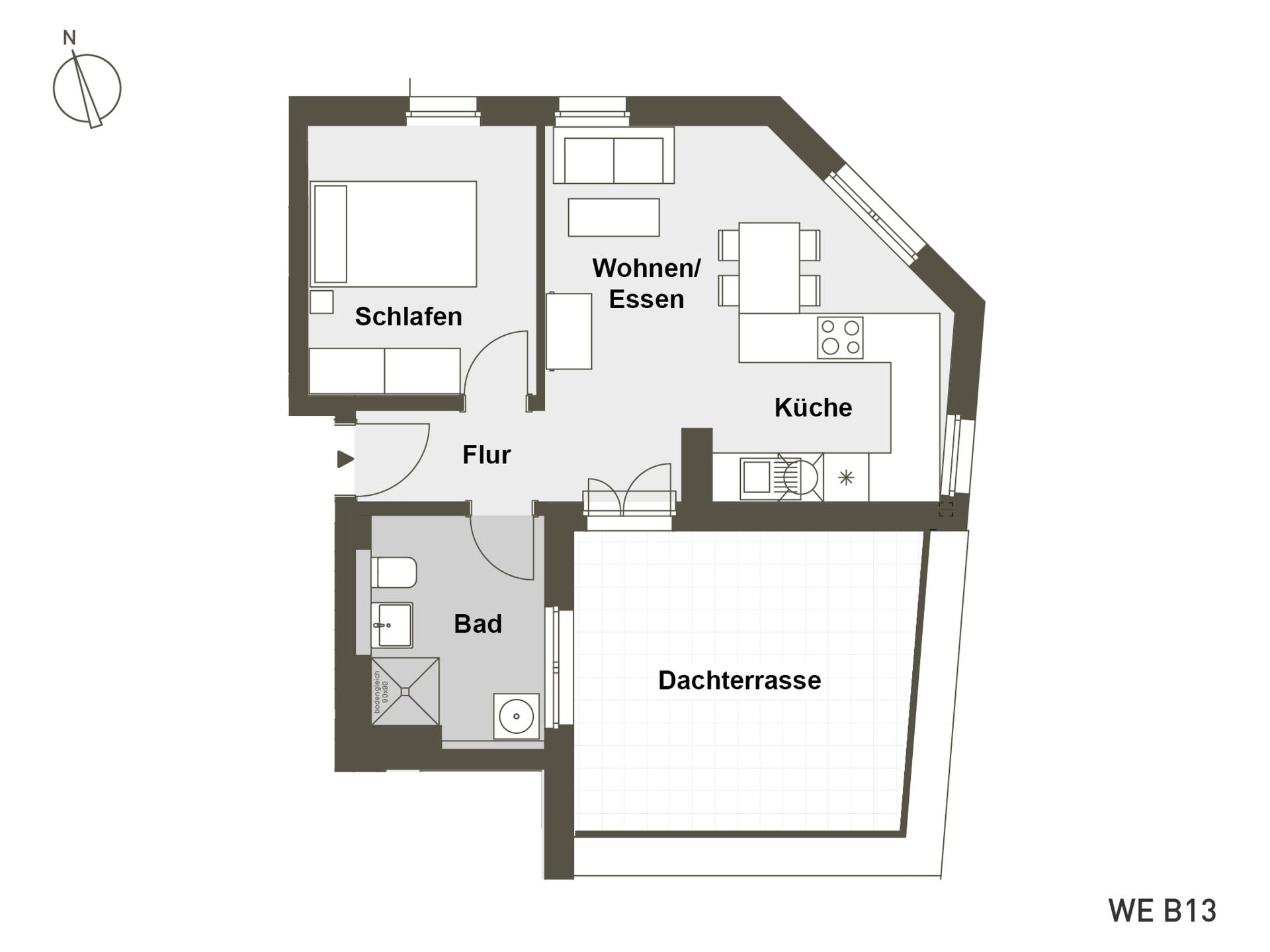 MITTE RAHLSTEDT | B13 | 2-Zi. | 54 m²