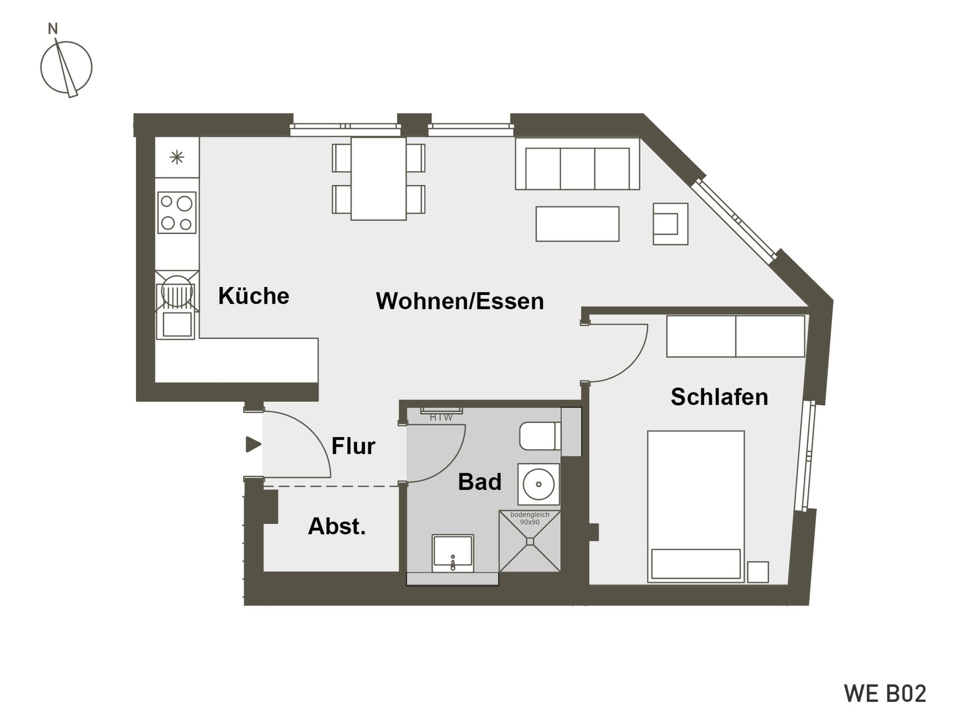 MITTE RAHLSTEDT | B02 | 51 m²