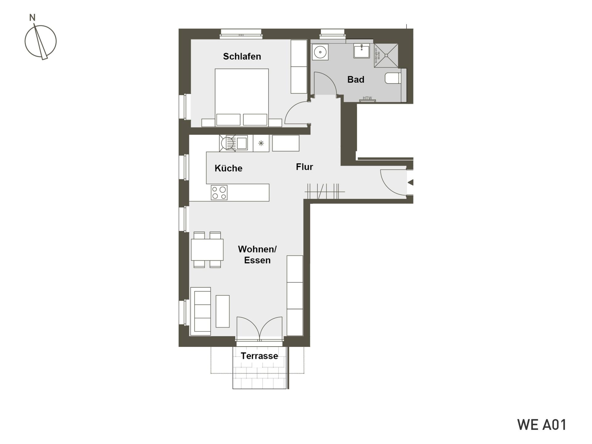 MITTE RAHLSTEDT | A01 | 65 m²