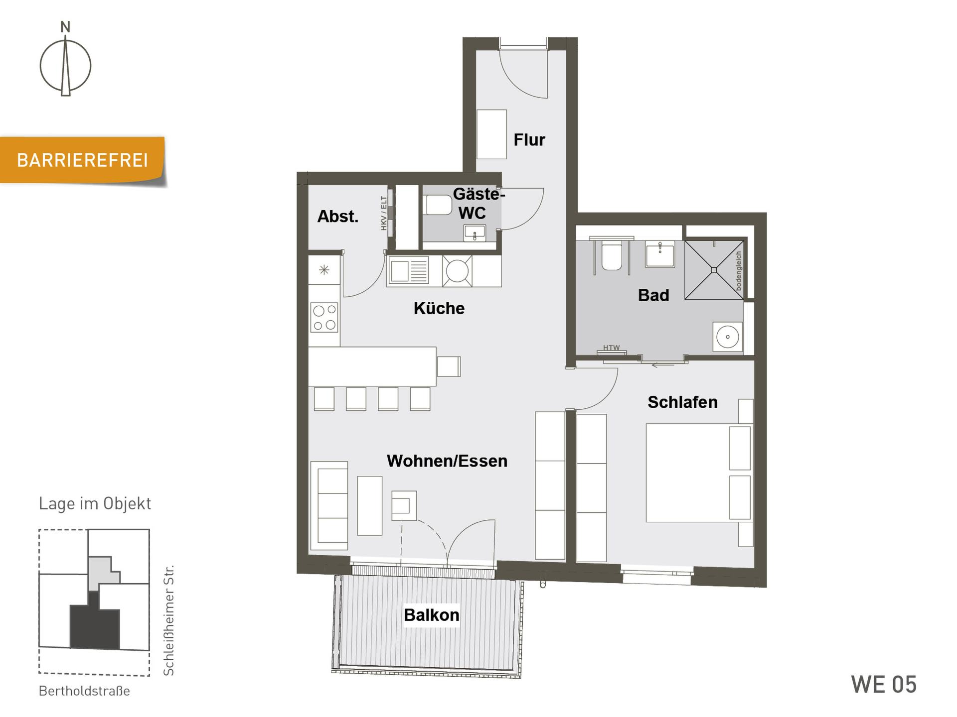 Das Bertholds | WE05 | 72 m²