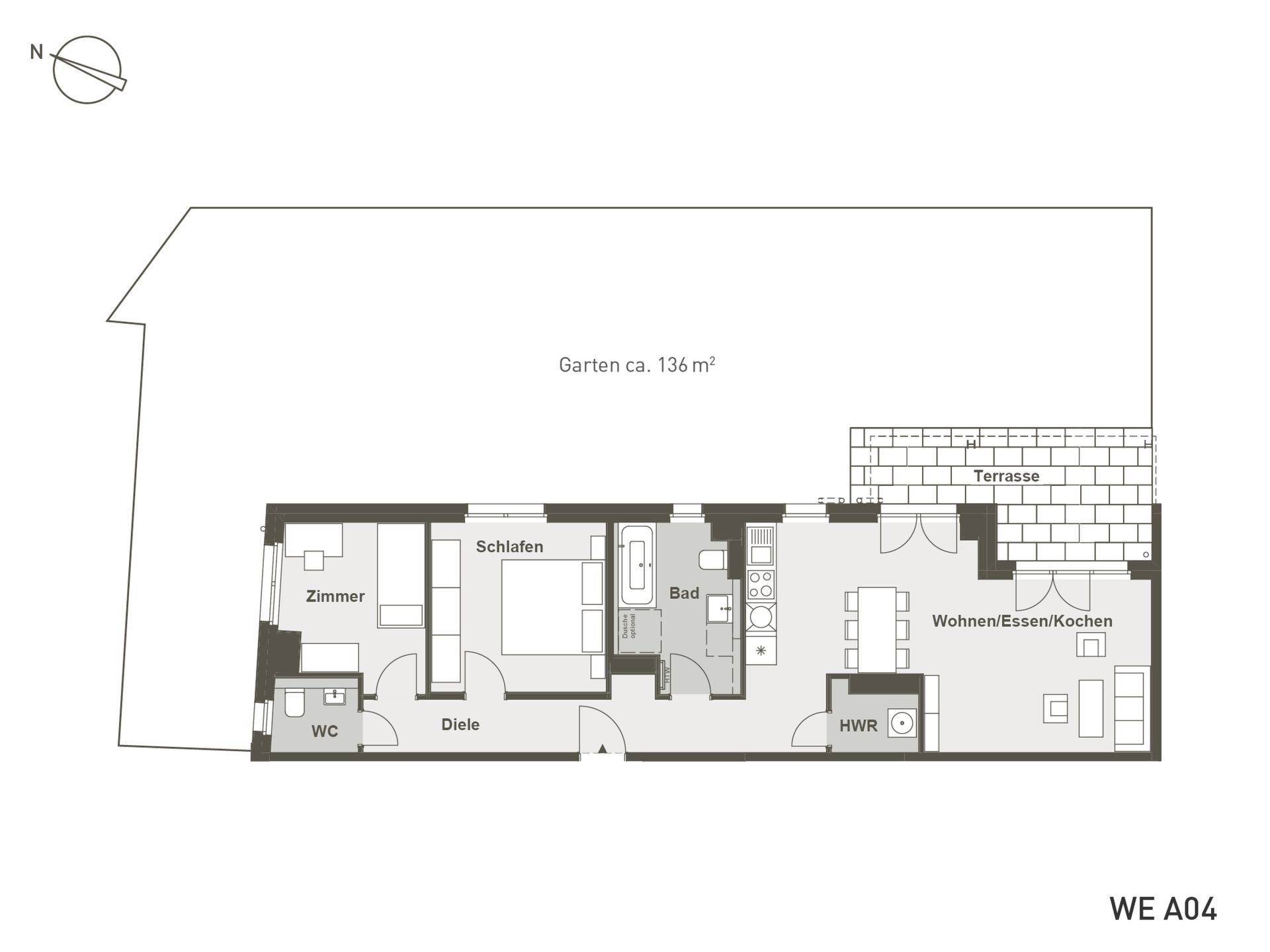 NORDER LIVING | A04 | 89 m²