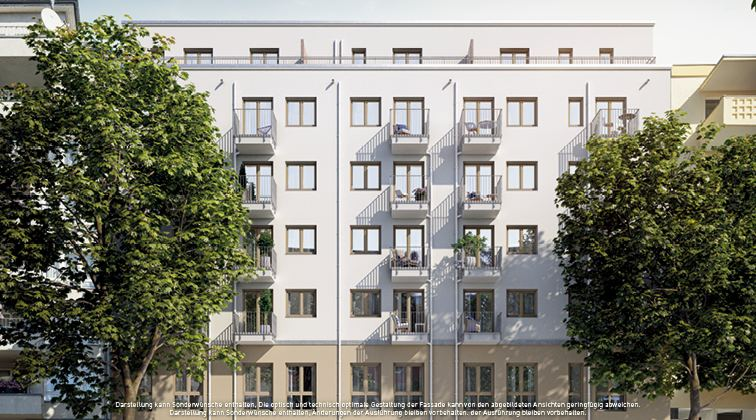 PROJECT Immobilien baut 62 neue Apartments in Berlin-Gesundbrunnen
