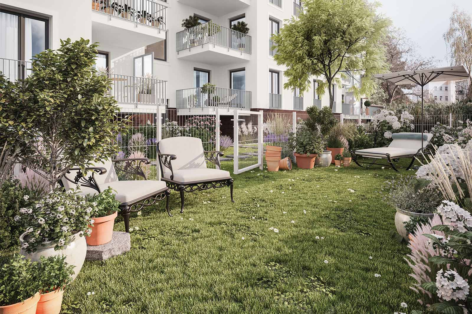Garden plots in Berlin: separate private gardens to purchase on site