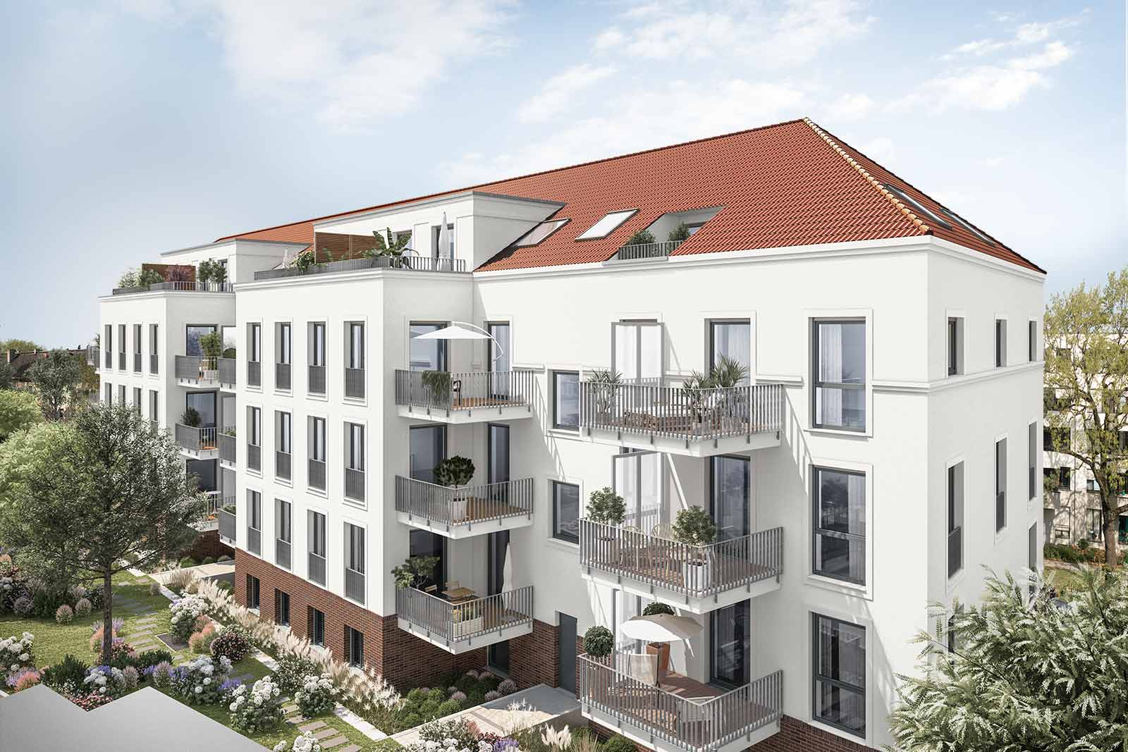 Attractive new-build with KfW-55 freehold apartments in Berlin Karlshorst